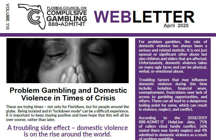 April Web Letter 2020