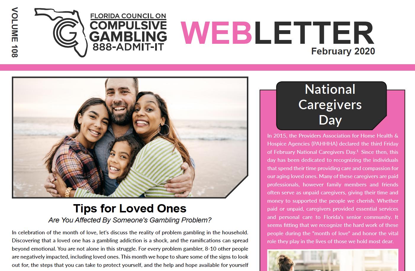 February Webletter 2020