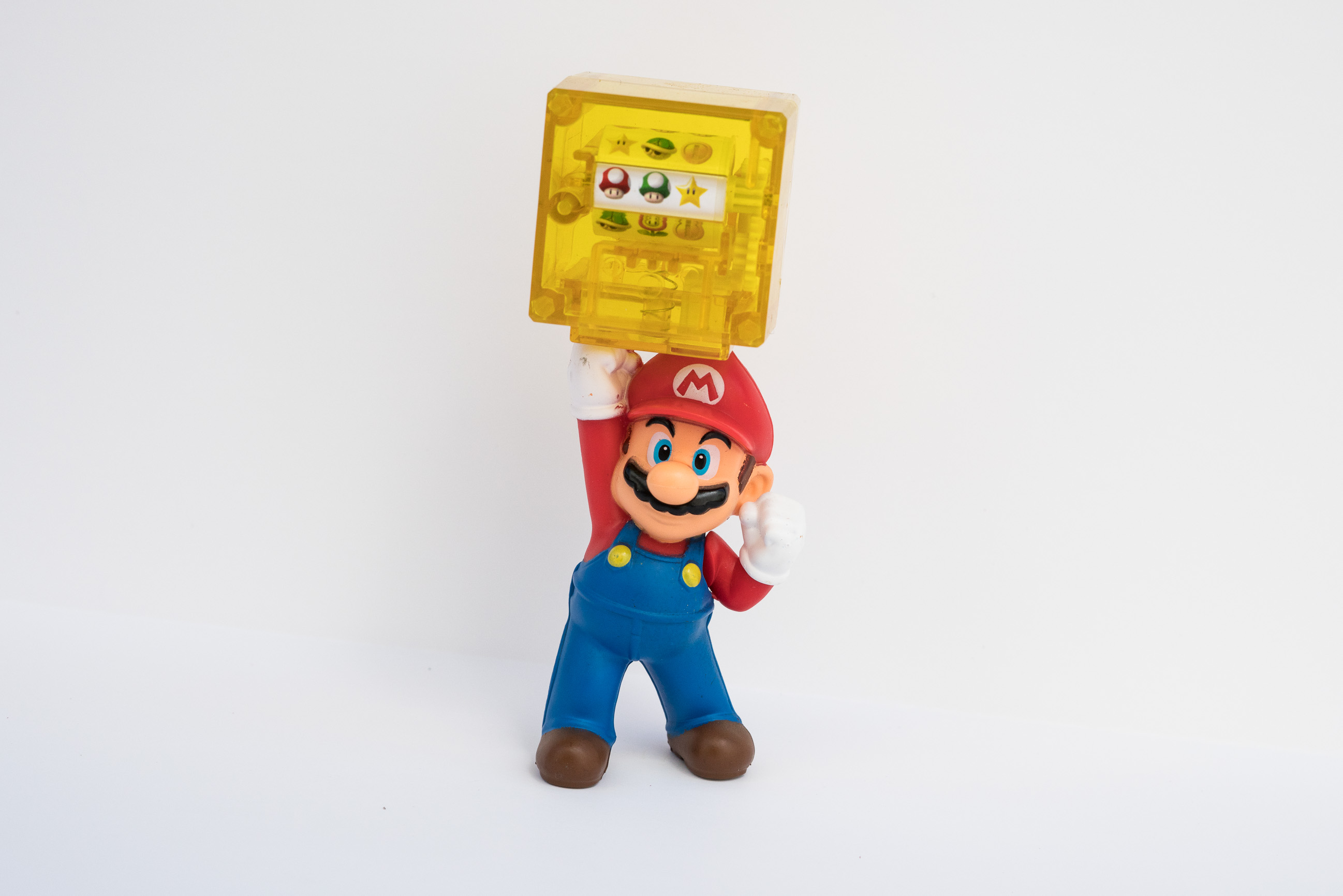 Super Mario™ Slot Machine Toy is Inappropriate in McDonald's® Happy Meals®