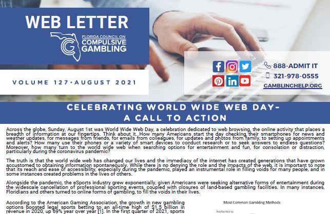 August Web Letter 2021