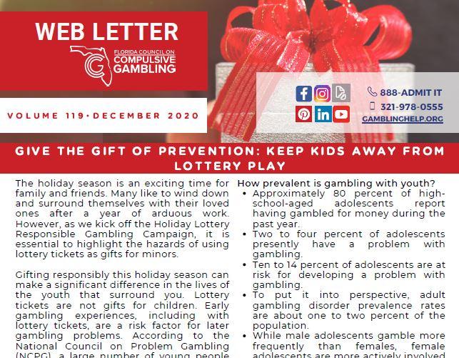 December Web Letter 2020