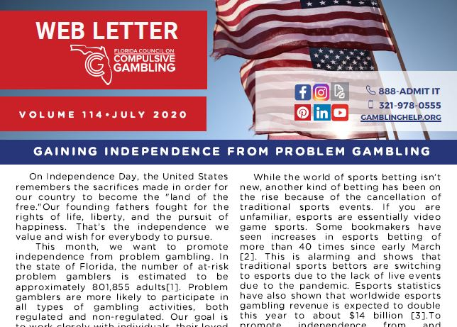 July Web Letter 2020