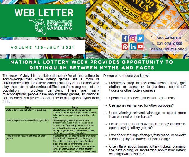 July Web Letter 2021