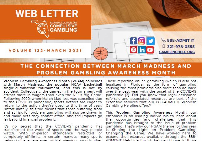 March Web Letter 2021