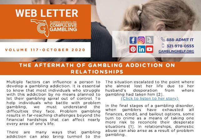 October Web Letter 2020