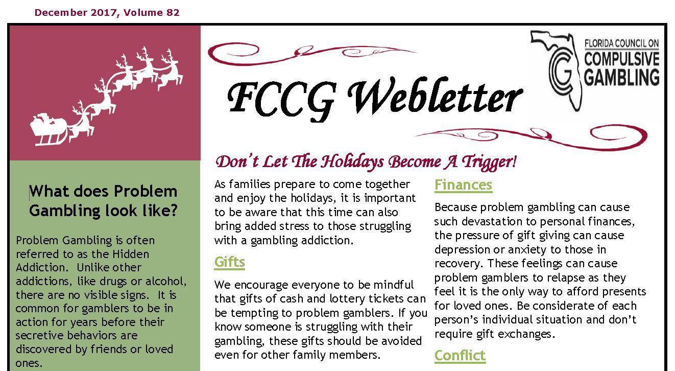 December Webletter 2017