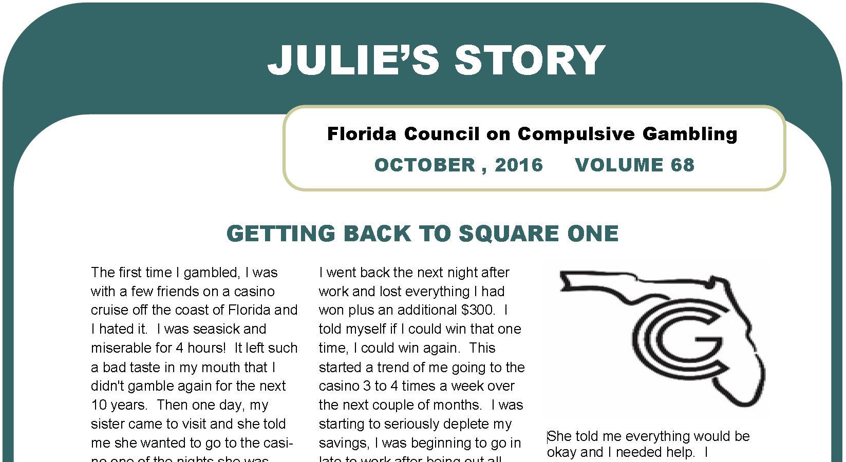 October Webletter 2016